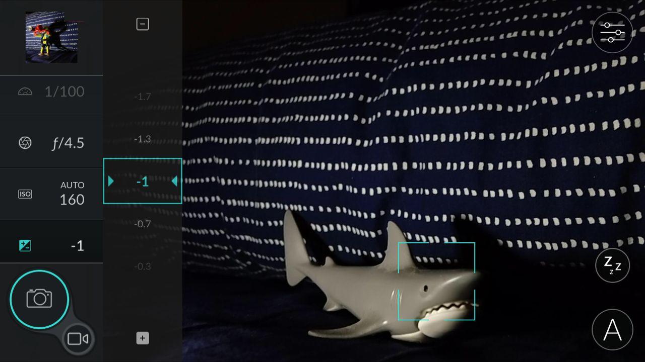 Paramètres conseillés pour faire des photos sous-marines de nuit avec la DxO ONE